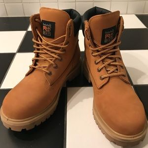 "cost charm separation shoes reputation first Men's Timberland Pro Direct Attach 6"" Soft Toeboot"